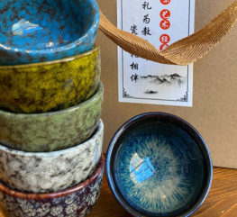 __0002_Set tazze 6 tazze in ceramica colorata €5500 peso 525gr
